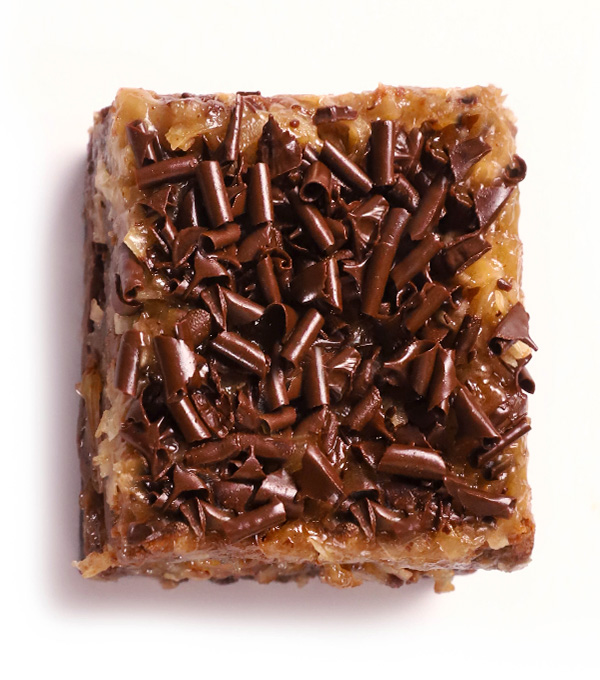 German Chocolate Killer Brownie
